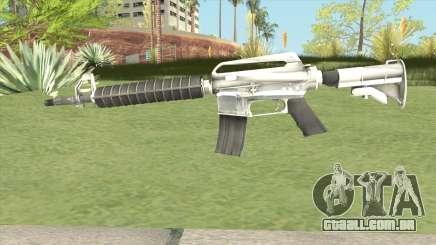 M4 (White) para GTA San Andreas
