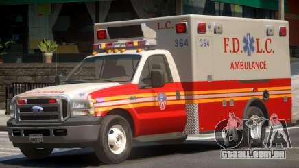 Ford F-350 Ambulance para GTA 4