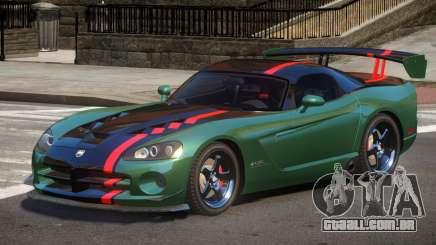 Dodge Viper SRT Spec V1.3 para GTA 4