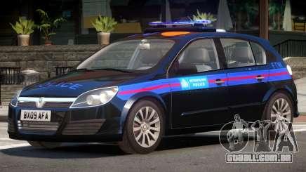 Vauxhall Astra Police V1.0 para GTA 4