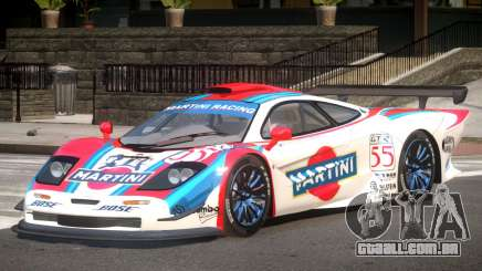 McLaren F1 GTR PJ1 para GTA 4