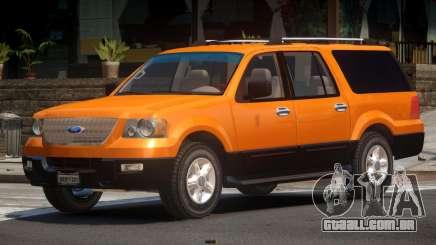 Ford Expedition V1.0 para GTA 4