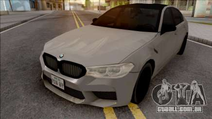 BMW M5 Competition 2019 para GTA San Andreas