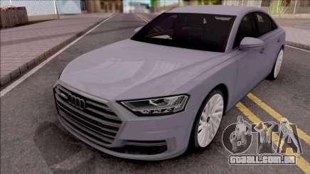 Audi A8 2018 Grey para GTA San Andreas