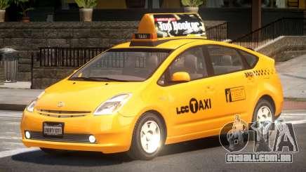 Toyota Prius 2 Taxi V1.1 para GTA 4