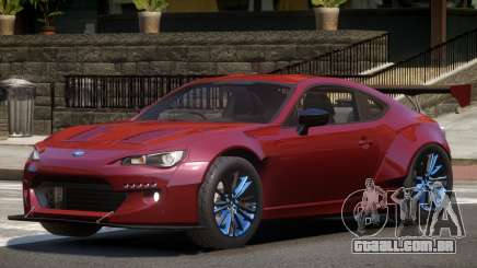 Subaru BRZ Sport para GTA 4