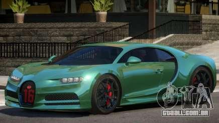 Bugatti Chiron Sport para GTA 4