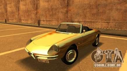 Alfa Romeo Spider-Duetto 160 1966 para GTA San Andreas