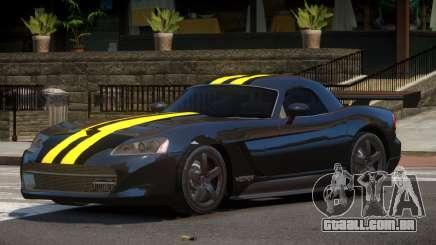 Dodge Viper RT Gold Strip para GTA 4
