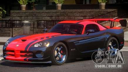 Dodge Viper SRT Spec V1.2 para GTA 4