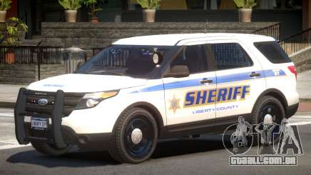 Ford Explorer Police V1.2 para GTA 4