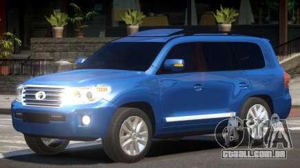 Toyota Land Cruiser 200 V1.2 para GTA 4