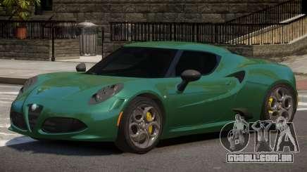 Alfa Romeo 4C ST para GTA 4