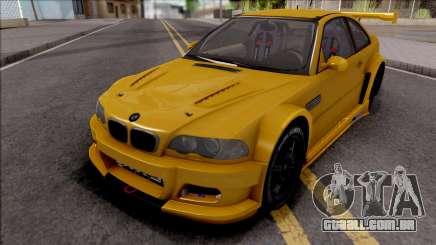 BMW M3 from NFS Shift 2 para GTA San Andreas