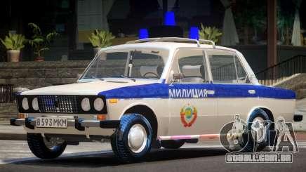 VAZ 2106 Police V1.0 para GTA 4