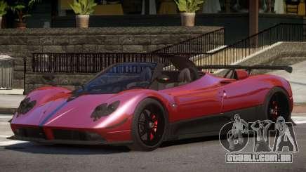 Pagani Zonda Spider V1.0 para GTA 4