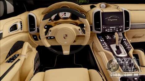 Porsche Cayenne Turbo 2014 para GTA San Andreas