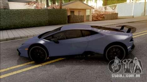 Lamborghini Huracan LP 580-2 para GTA San Andreas