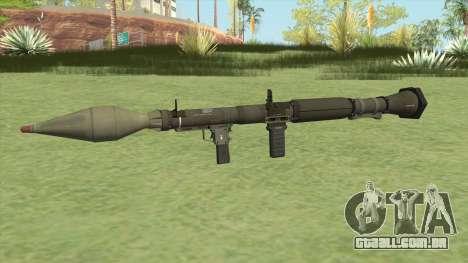 Rocket Launcher GTA V (Green) para GTA San Andreas