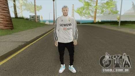 David Beckham (Real Madrid) para GTA San Andreas