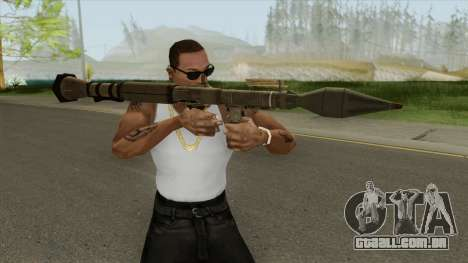 Rocket Launcher GTA V (Army) para GTA San Andreas