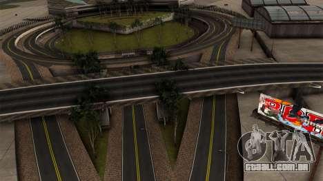 ROMENO HQ ESTRADAS por Longarina para GTA San Andreas