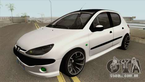 Peugeot 206 (Tuning) para GTA San Andreas
