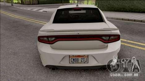 Dodge Charger SRT Hellcat 2019 Low Poly para GTA San Andreas