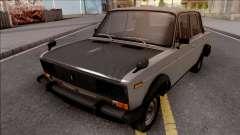 VAZ 2106 Cinza para GTA San Andreas