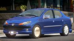Peugeot 206 V1.0 para GTA 4