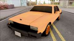 Chevrolet Caprice Orange para GTA San Andreas