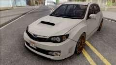 Subaru Impreza WRX STi 2008 White