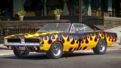 1968 Dodge Charger RT PJ3 para GTA 4