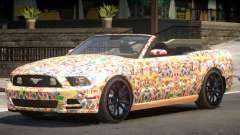 Ford Mustang GT Cabrio PJ5 para GTA 4
