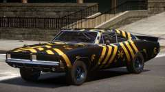 1969 Dodge Charger RT V1.0 PJ3 para GTA 4
