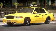 Ford Crown Victoria Taxi V1.2 para GTA 4