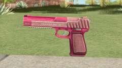 Pistol .50 GTA V (Pink) Base V1 para GTA San Andreas
