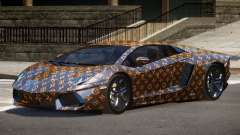 Lamborghini Aventador SS PJ1 para GTA 4