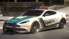 Aston Martin Vanquish Police V1.2 para GTA 4