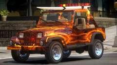 1988 Jeep Wrangler PJ1 para GTA 4