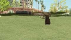 Pistol .50 GTA V (Army) Suppressor V1 para GTA San Andreas