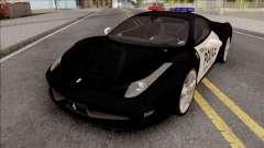 Ferrari 458 Italia 2015 Police Car