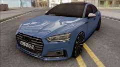 Audi S5 Blue para GTA San Andreas