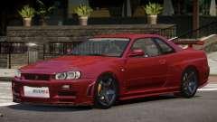 Nissan Skyline R34 V1.2 para GTA 4