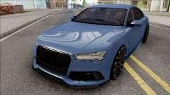 Audi RS7 Blue