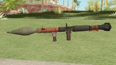 Rocket Launcher GTA V (Orange) para GTA San Andreas