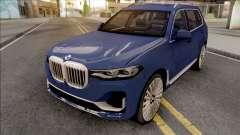 BMW X7 2020 Low Poly