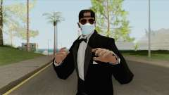Random Male Skin (Medical Mask) para GTA San Andreas