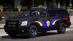 Chevrolet Suburban Police V1.1 para GTA 4
