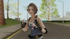 Jill Valentine (RE3 Remake) para GTA San Andreas